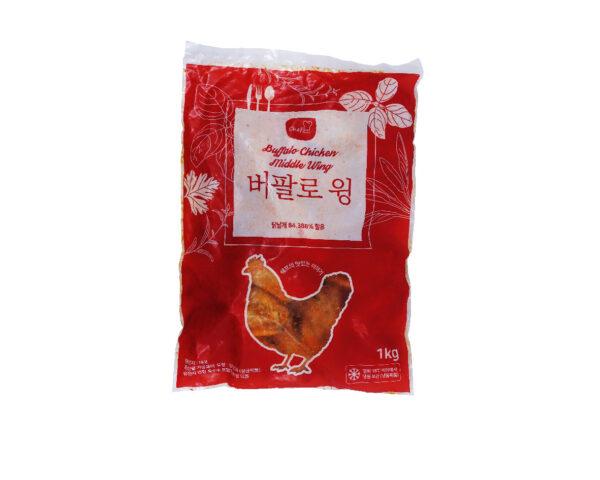韓式香辣水牛城雞中翼